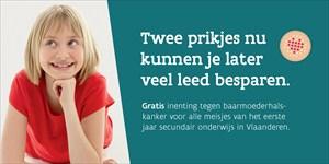 Gratis HPV-vaccinatie goed ingeburgerd in Vlaanderen